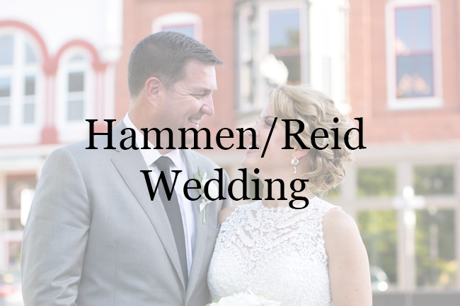 HammenReid Wedding at Restoration 1894